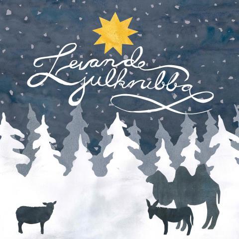 Levande julkrubba på Kungsbyn Djurpark