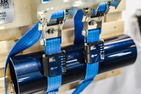 BPW's intelligent iGurt cargo securing system