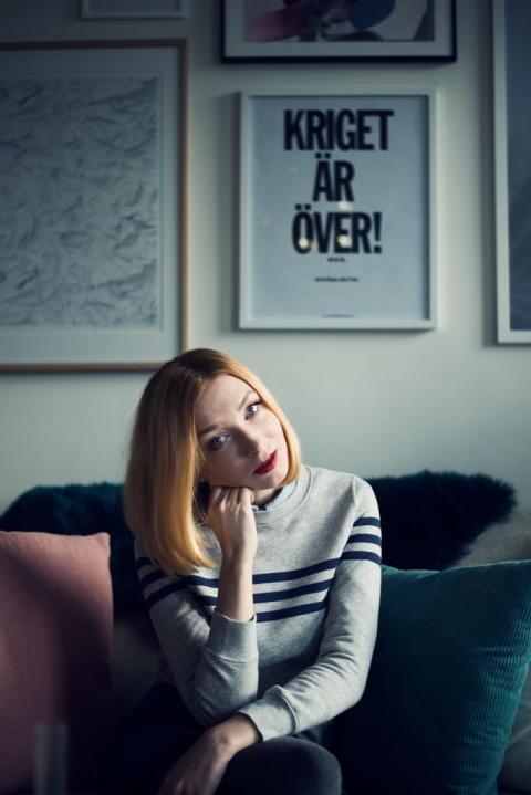 Sandra Beijer skriver Stories. Foto: BrorBror