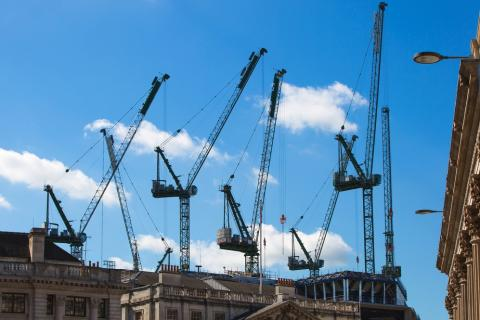 Confidence in construction industry surges