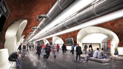 Finansieringen av ny bussterminal i Slussen är klar