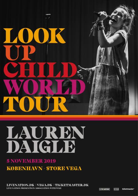 Lauren Daigle kommer til Store VEGA på sin 'Look Up Child World Tour'.