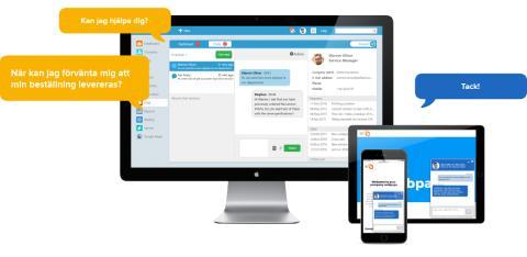 SuperOffice lanserar livechatt
