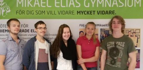 Mikael Elias-elever i Örnsköldsvik bäst i landet på engelska