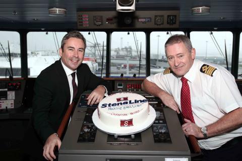 Stena Line celebrates 1st anniversary of new ferry route