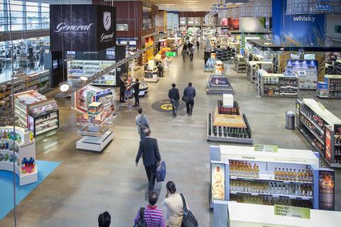 Stockholm Arlanda Airport, Tax-free