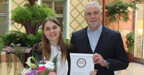 Sommarjobbet för 23-åriga Linnea: VD på världens största bemannings- och rekryteringsföretag
