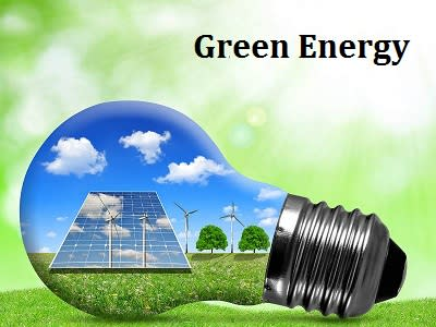 Emerging Growth Of Green Energy Market 2019: Report gives immense knowledge on the competitive nature Analysis Forecast by 2027