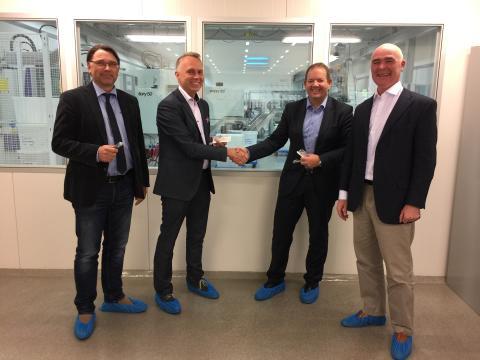 Luer-Jack high-volume production agreement with AB Euroform MediPharm, Sweden