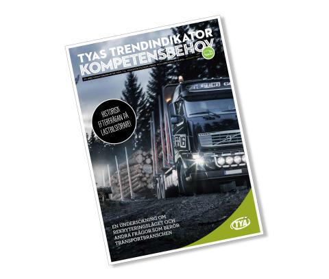Historiskt stor efterfrågan på lastbilsförare