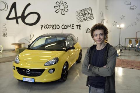 Valetino Rossi ny varumärkesambassadör för Opel