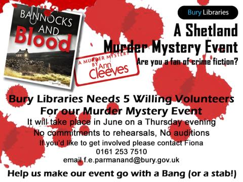 Fancy being part of a murder mystery?
