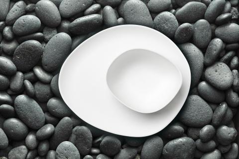 Duni Pebbles Bagasse Collection