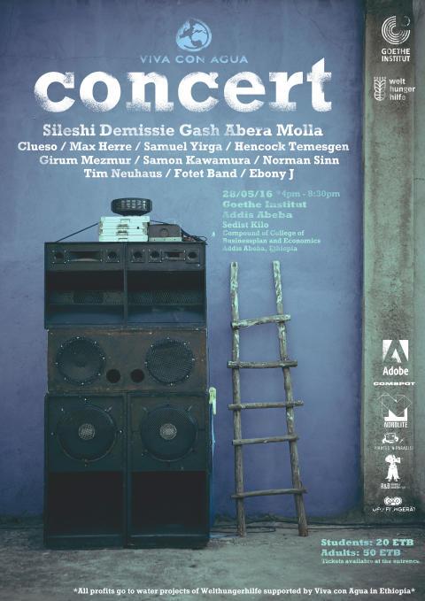 Clueso & friends zu Gast in Äthiopien - Konzert am 28.5. im Goethe Institut Addis Abeba