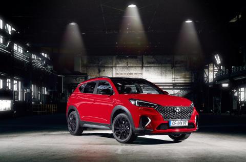 Hyundai lanserar nya Tucson N Line – en sportigare och miljövänligare version av märkets bästsäljande SUV