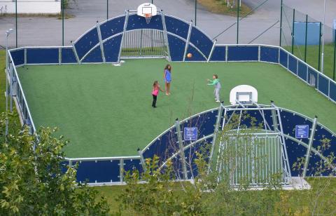Ny multisportarena invigs i Torvalla den 7 oktober