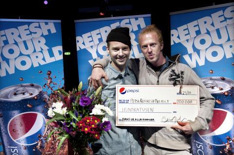 Vinnarna i Pepsi Refresh Dance Moves