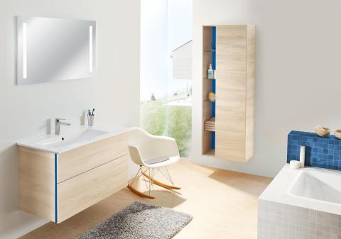 Systemprogramme, Impulskollektionen, Gästebäder und Spiegelvielfalt – Badmöbel von Sanipa bringen Komfort und Individualität ins Badezimmer
