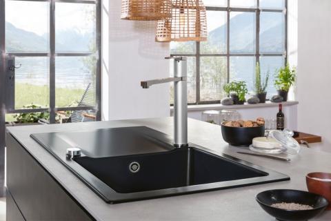 Ausgezeichnet mit dem Kücheninnovationspreis 2018 –  Siluet: Die erste Küchenspüle aus TitanCeram