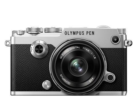 Olympus PEN F silver 17mmf1,8