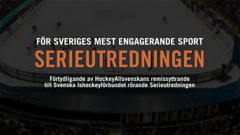 """""""För en mer populär och engagerande hockey"""""""