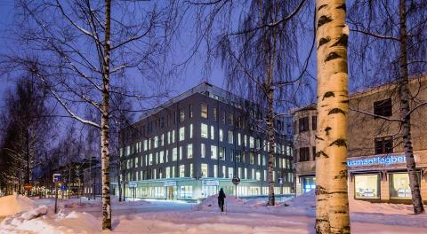 Länsförsäkringar Västerbotten, Umeå - LINK arkitektur
