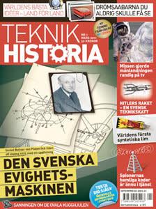 Teknikhistoria - Första numret i butik