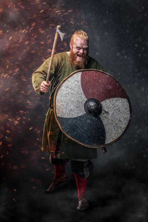 Mød en vaskeægte viking på Moesgaard i påsken
