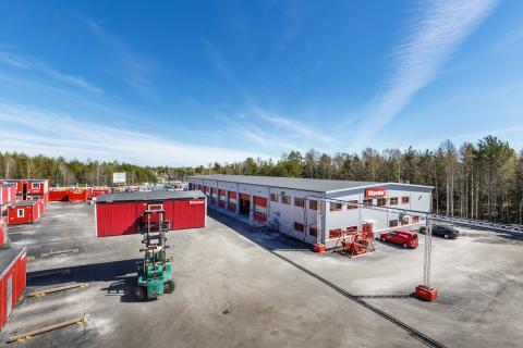 Nu invigs Stavdals nya hyrcenter i Kungsängen