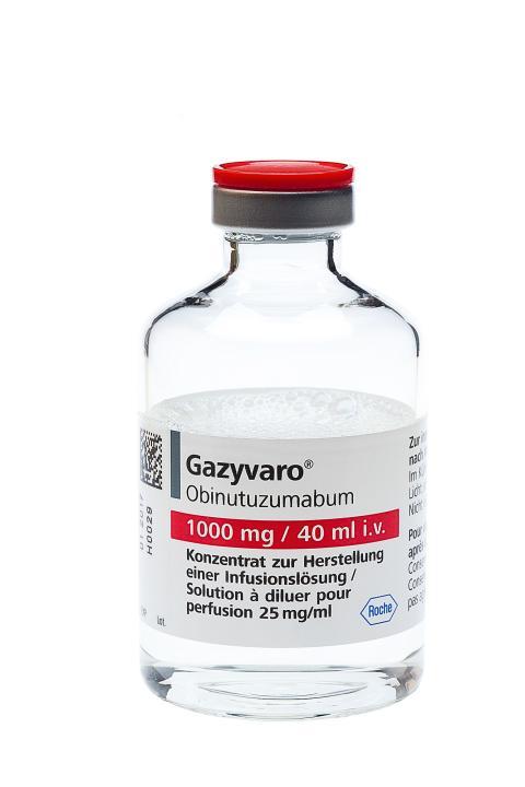 Positivt utlåtande för Gazyvaro▼som ny behandling vid lymfom