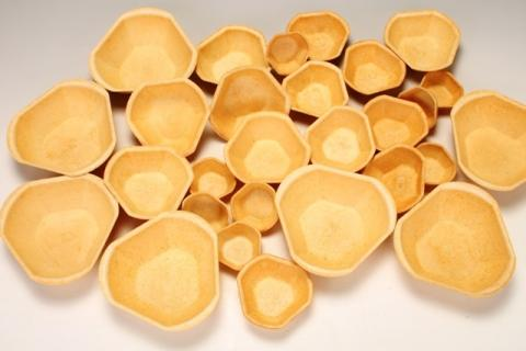 Füllett, essbare knusprige Schalen in bio-veganer Qualität