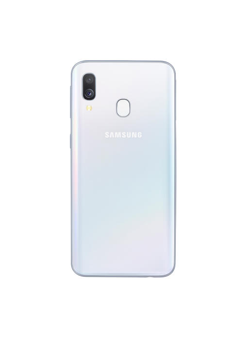 Galaxy A40_white_back