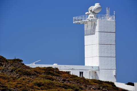 Teleskopet på La Palma
