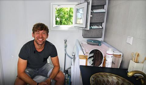 Hög bostadskomfort i kompakt format på tyska landsbygden