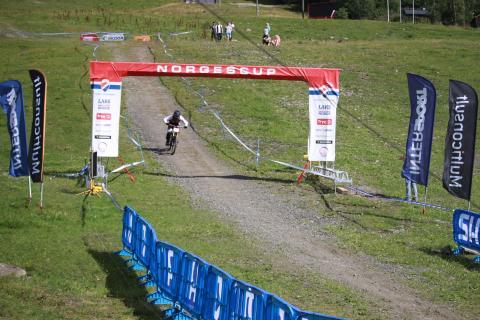 Borrman, Leivsdottir og Leivsson vant den tredje utgaven av Scandinavian Downhillcup på Hafjell.
