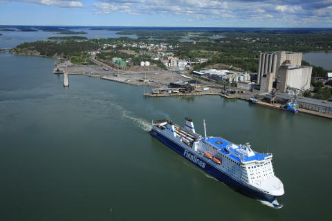 Total transports in the Port of Naantali 7.84 million tonnes in 2018
