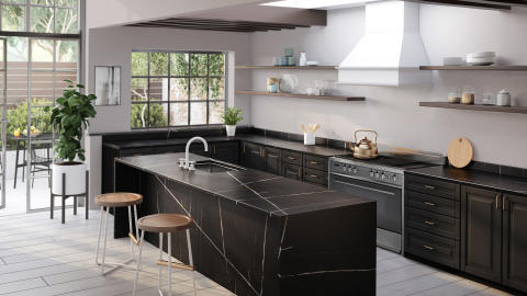Silestone Eternal Noir -  Kitchen