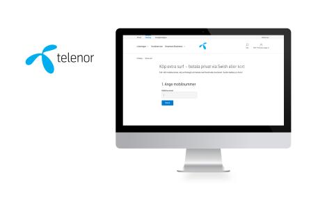 Smart Refill helps Telenor's corporate customers to top up more data