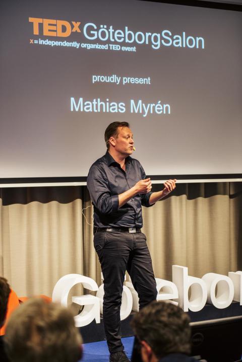 Mathias Myrén TEDx GöteborgSalon
