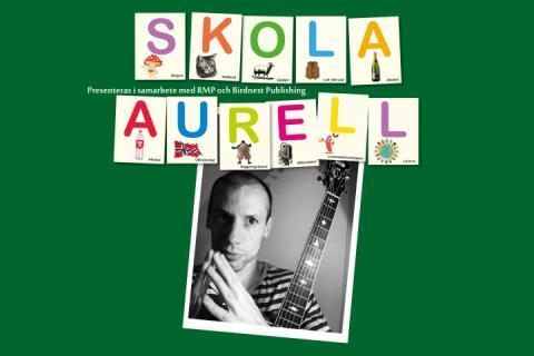 Ola Aurell ger 'Skola Aurell' på Scala Teatern i vår