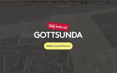 Namninsamling mot utförsäljning i Gottsunda