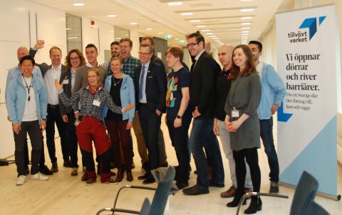 Startupbolag från hela landet inleder Boot Camp med ministermöte