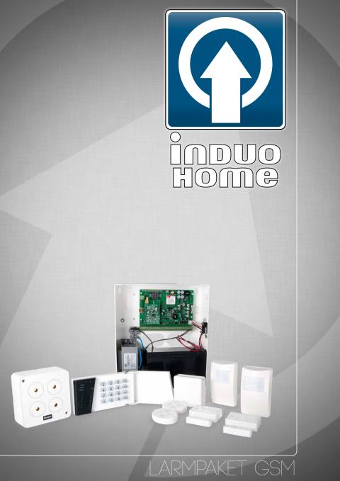 GSM-larmpaket från Induo Home AB