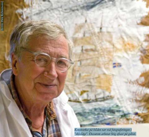 Vernissage med Stig Fyring hos Briggen Tre Kronor