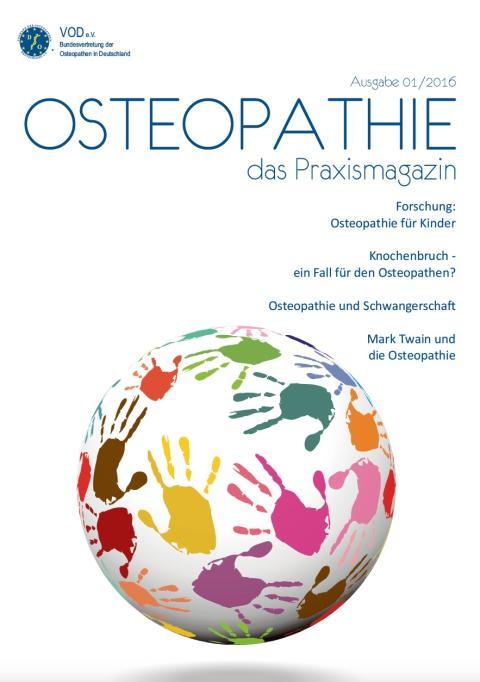 Osteopathie-Patientenzeitung: 1. Auflage ist vergriffen