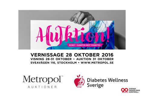 A(u)ktion- Konst i kampen mot diabetes.