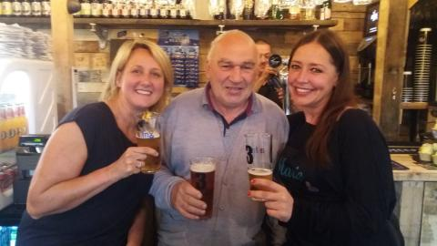 Market makes history as first licensed bar opens