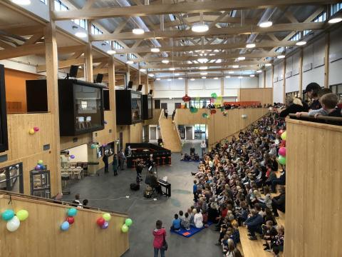 Invigning av Morö backe skola – Skellefteå kommuns mest hållbara skola