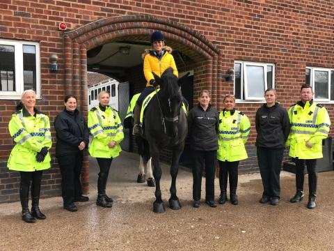 Merseyside Police hold naming ceremony to commemorate the life of Dianne Oxberry