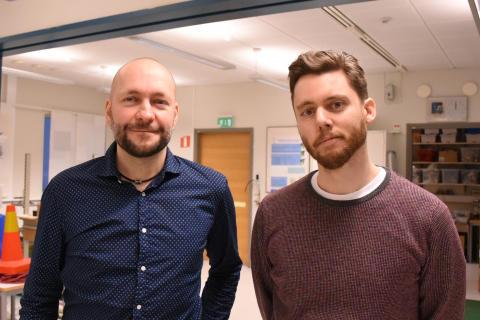 Achim Lilienthal och Martin Magnusson, Örebro universitet